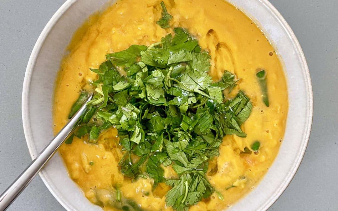 Zingy Red Lentil Soup